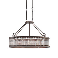 Currey & Company Elixir 8 Light Chandelier in Bronze Verdigris 9406