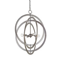 Currey & Company Continuum 4 Light Chandelier in Bronze Gold 9431