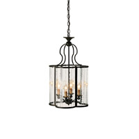 Currey & Company 9469 Rupert 4 Light 14 inch Old Iron Lantern Ceiling Light