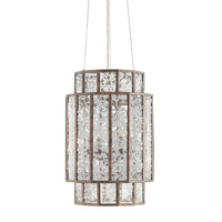 Currey & Company Fantasia Chandelier in Pyrite Bronze with Raj Mirror Glass 9493