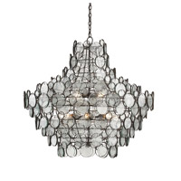 Currey & Company Galahad 12 Light Chandelier in Bronze 9520