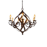 Currey & Company Gramercy 9 Light Chandelier in Mayfair 9528