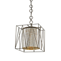 Currey and Company Marmande 1 Light Lantern in Cupertino 9565