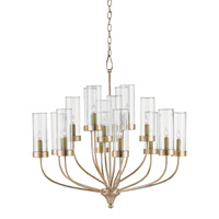 Hove 16 Light 32 inch Silver Granello Chandelier Ceiling Light
