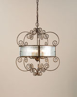 Currey & Company Wizard 5 Light Chandelier in Cupertino 9655