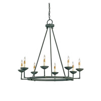 Ormewood 8 Light 37 inch Mole Black Chandelier Ceiling Light