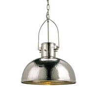 Syllabus 1 Light 18 inch Nickel Pendant Ceiling Light