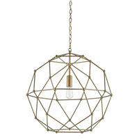 Percy 1 Light 25 inch Antique Brass Chandelier Ceiling Light