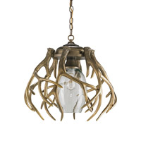 Gamekeeper 1 Light 20 inch Washed Bronze Pendant Ceiling Light