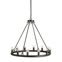 Currey & Company Wilford 12 Light Circular Chandelier in Mayfair 9813