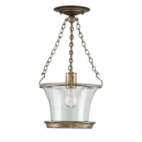 Currey & Company Marlow 1 Light Pendant in Pyrite Bronze 9847