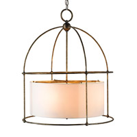 Currey & Company 9885 Benson 4 Light 24 inch Pyrite Bronze Lantern Ceiling Light