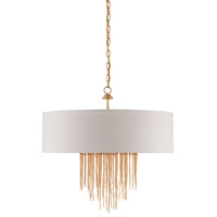Zareen 4 Light 28 inch Contemporary Gold Chandelier Ceiling Light
