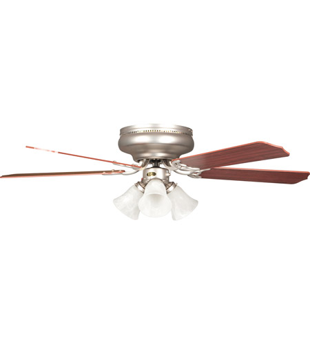 Concord Rosemount 42-in Satin Nickel LED Indoor Flush