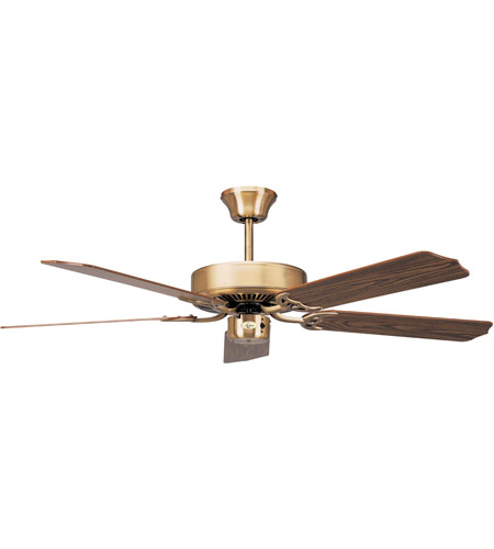 Concord 52In California Home Collection Fan In Antique Brass 52CH5AB photo