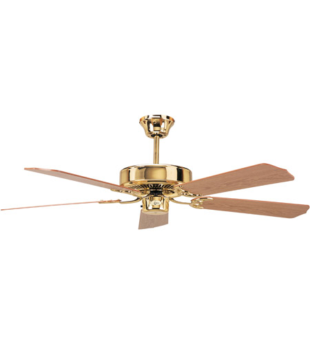Concord 52ch5bb California Home 52 Inch Polished Br Ceiling Fan