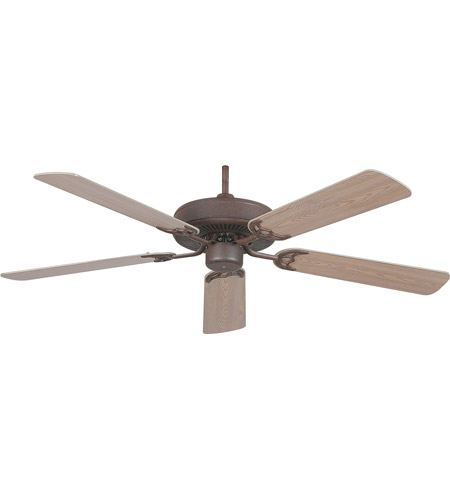 New 52 3 Light Bronze Indoor Ceiling Fan Best Price: Concord 52In California Home Collection Fan In Rubbed