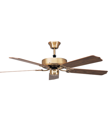 Concord 52In California Collection Fan In Antique Brass 52CT5AB photo