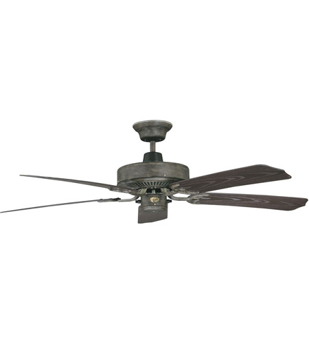 Concord 52In Nautika Outdoor Fan In Aged Pecan 52NA5AP photo