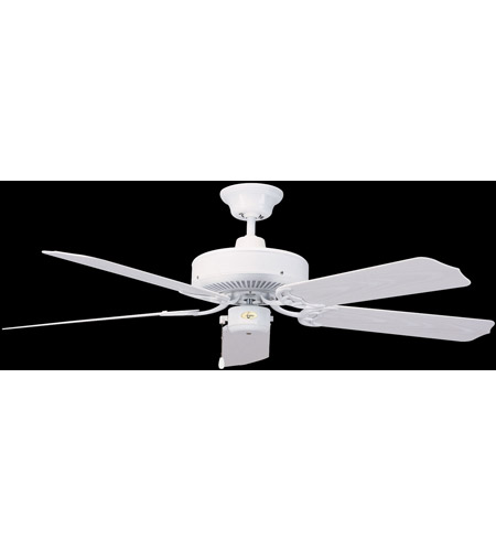 Concord 52NA5WH Nautika 52 inch White Outdoor Ceiling Fan photo
