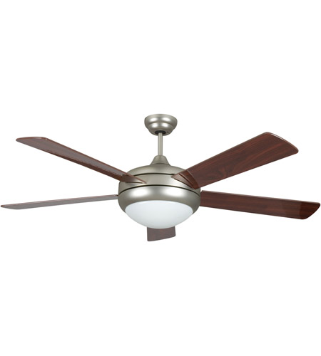 Concord 52sat5esn saturn ii 52 inch satin nickel ceiling fan aloadofball Image collections