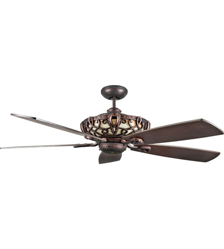 Concord Fans Aracruz 4 Light 60 inch Ceiling Fan in Oil Rubbed Bronze 60AC5ORB photo