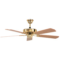 CALIFORNIA POLISHED BRASS FAN in 42