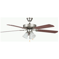 Heritage Home 42 inch Satin Nickel Ceiling Fan
