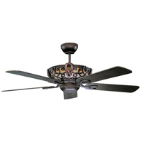 Aracruze 52 inch Oil Rubbed Bronze Ceiling Fan