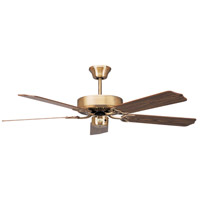Concord 52In California Home Collection Fan In Antique Brass 52CH5AB photo thumbnail