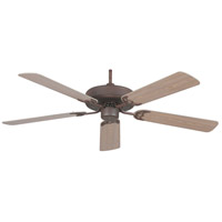 CALIFORNIA RUBBED BRONZE FAN in 52