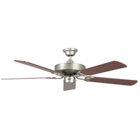 California Home 52 inch Satin Nickel Ceiling Fan