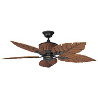 Fernleaf Breeze 52 inch Rustic Iron Ceiling Fan
