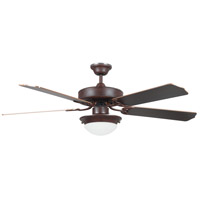 Concord Fans Heritage Fusion 2 Light 52 inch Ceiling Fan in Rubbed Bronze 52HEF5ERB-ES