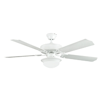 Concord 52HEF5WH-ES-LED Heritage Fusion 52 inch White Indoor Ceiling Fan