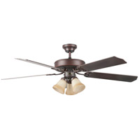 Heritage Home 52 inch Oil Rubbed Bronze Ceiling Fan