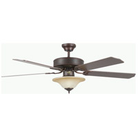 Concord 52HES5EORB Heritage Square 52 inch Oil Rubbed Bronze Ceiling Fan, Bowl