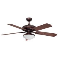 Linden 52 inch Oil Rubbed Bronze Ceiling Fan