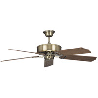 MADISON ANTIQUE BRASS FAN in 52