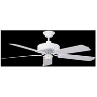 Nautika 52 inch White Outdoor Ceiling Fan