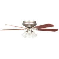 Rosemount 52 inch Satin Nickel Hugger Ceiling Fan, Hugger