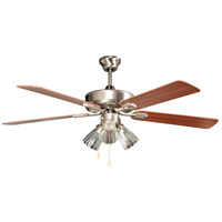 San Marcos 52 inch Stainless Steel Ceiling Fan