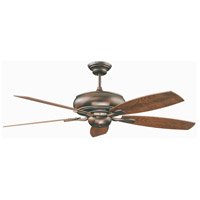 Roosevelt 60 inch Oil Brushed Bronze Ceiling Fan
