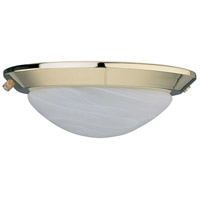 Concord Y-260A-S-BB LOW PROFILE 2 Light POLISHED BRASS LIGHT KIT