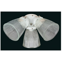Turtle 3 Light Incandescent White Fan Light Kit