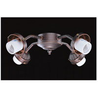 Concord Y-401CG-S-ORB Contractor 4 Light Incandescent Oil Rubbed Bronze Fan Light Kit