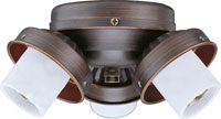 Concord 3 Light Turtle Fitter In Oil Rubbed Bronze Y-306CG-ORB photo thumbnail
