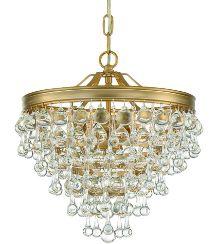 Crystorama 130 vg calypso 6 light 12 inch vibrant gold mini crystorama 130 vg calypso 6 light 12 inch vibrant gold mini chandelier ceiling light photo mozeypictures Image collections