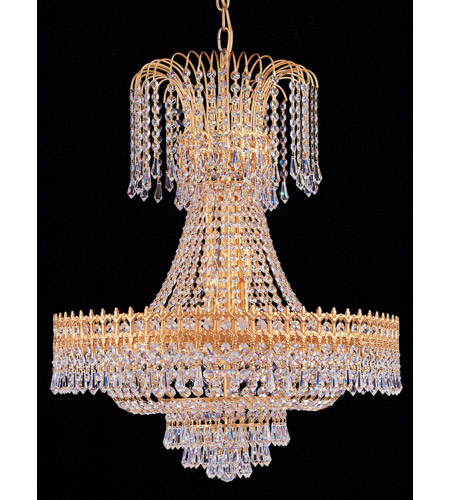 Crystorama Majestic Chandelier in Gold 1472-GD-CL-SAQ photo
