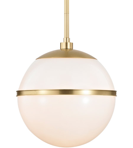 Crystorama 2112-AG Truax 1 Light 12 inch Aged Brass Chandelier Ceiling Light in Aged Brass (AG) photo